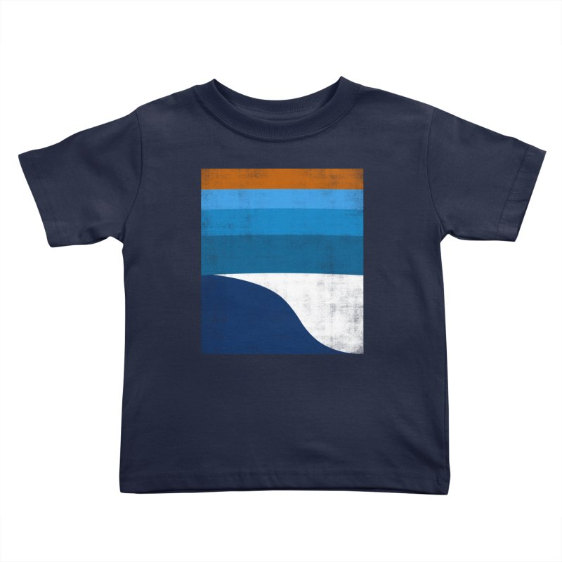 Feel the wave Kids Toddler T-Shirt by bulo