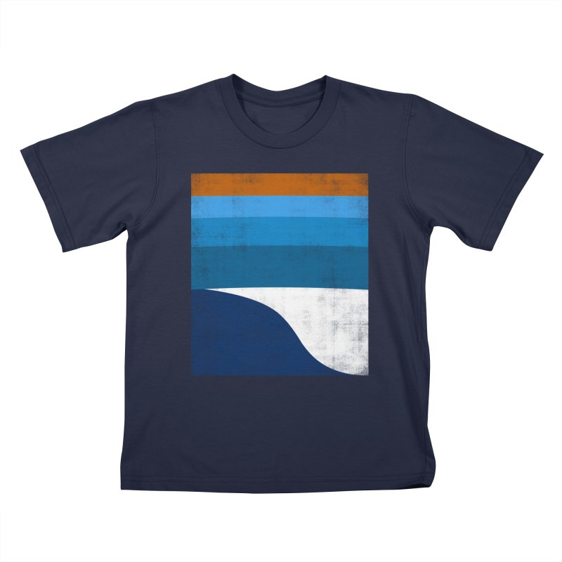 Feel the wave Kids T-Shirt by bulo