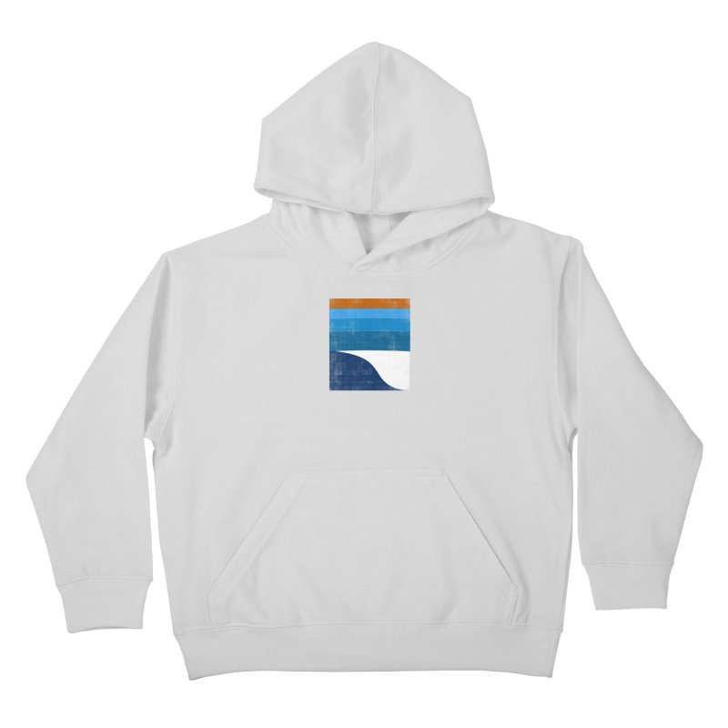 Feel the wave Kids Pullover Hoody by bulo