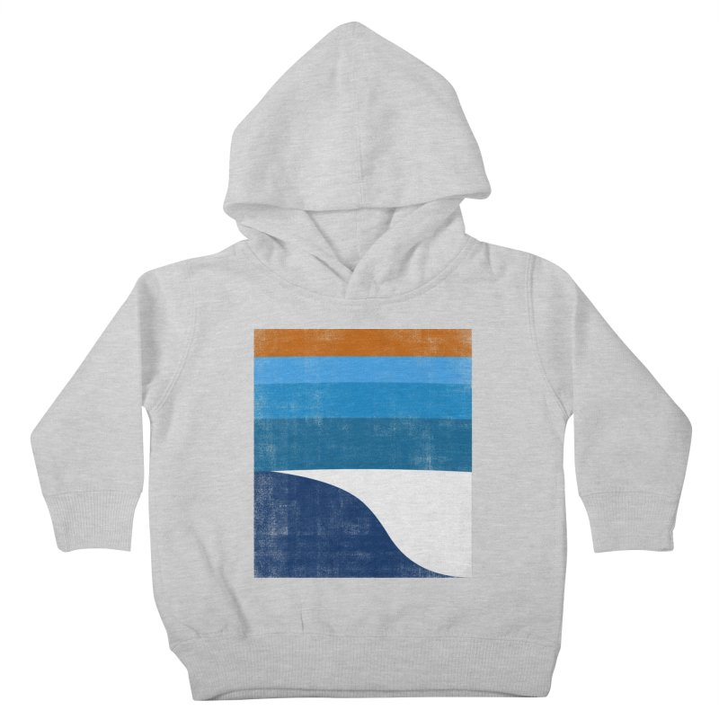 Feel the wave Kids Toddler Pullover Hoody by bulo