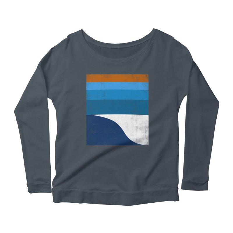 Feel the wave Women's Scoop Neck Longsleeve T-Shirt by bulo