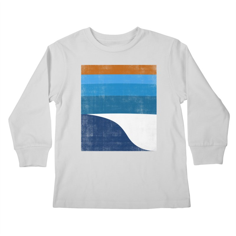 Feel the wave Kids Longsleeve T-Shirt by bulo