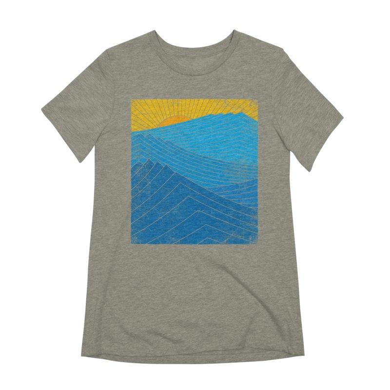 Sunrise (zen version) Women's Extra Soft T-Shirt by bulo