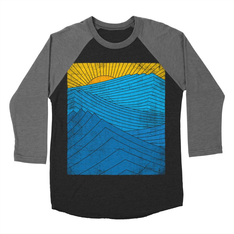 Sunrise (zen version) Men's Baseball Triblend Longsleeve T-Shirt by bulo