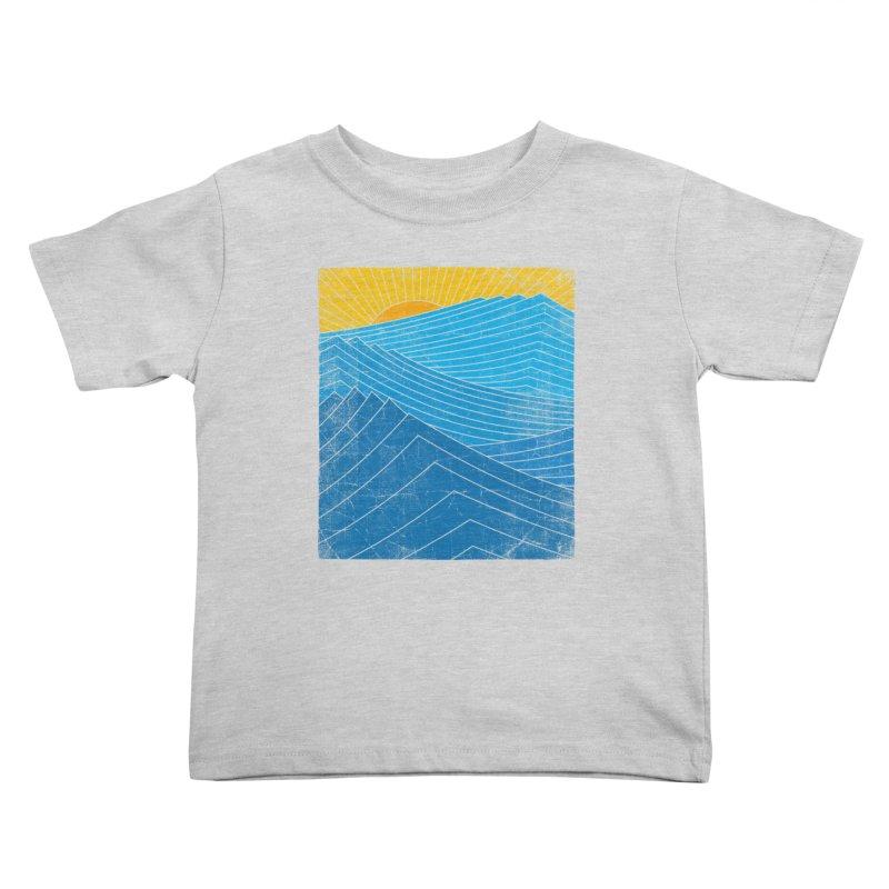 Sunrise (zen version) Kids Toddler T-Shirt by bulo