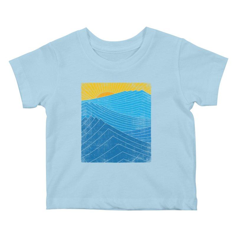 Sunrise (zen version) Kids Baby T-Shirt by bulo