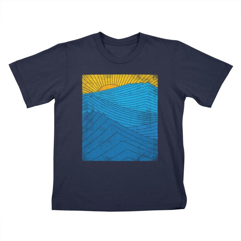 Sunrise (zen version) Kids T-Shirt by bulo