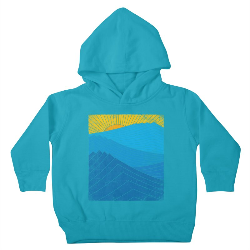 Sunrise (zen version) Kids Toddler Pullover Hoody by bulo