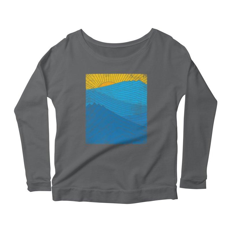 Sunrise (zen version) Women's Scoop Neck Longsleeve T-Shirt by bulo