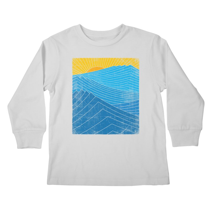 Sunrise (zen version) Kids Longsleeve T-Shirt by bulo