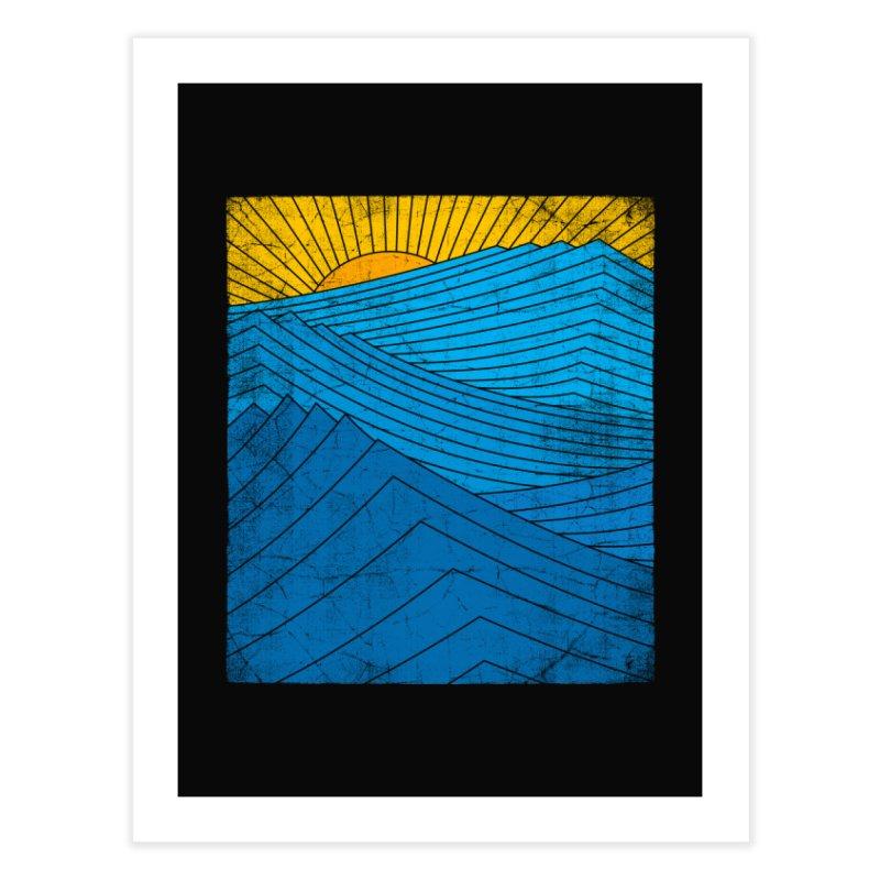 Sunrise (zen version) Home Fine Art Print by bulo