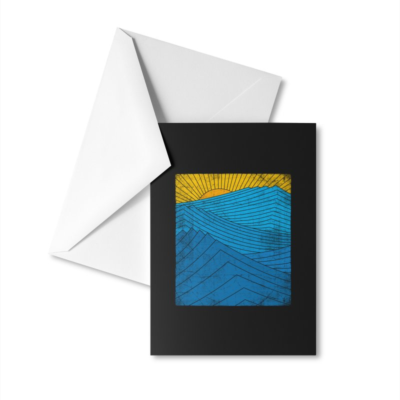 Sunrise (zen version) Accessories Greeting Card by bulo