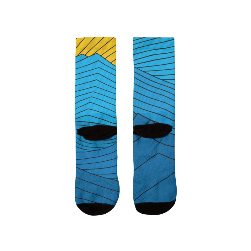 Sunrise (zen version) Women's Socks by bulo