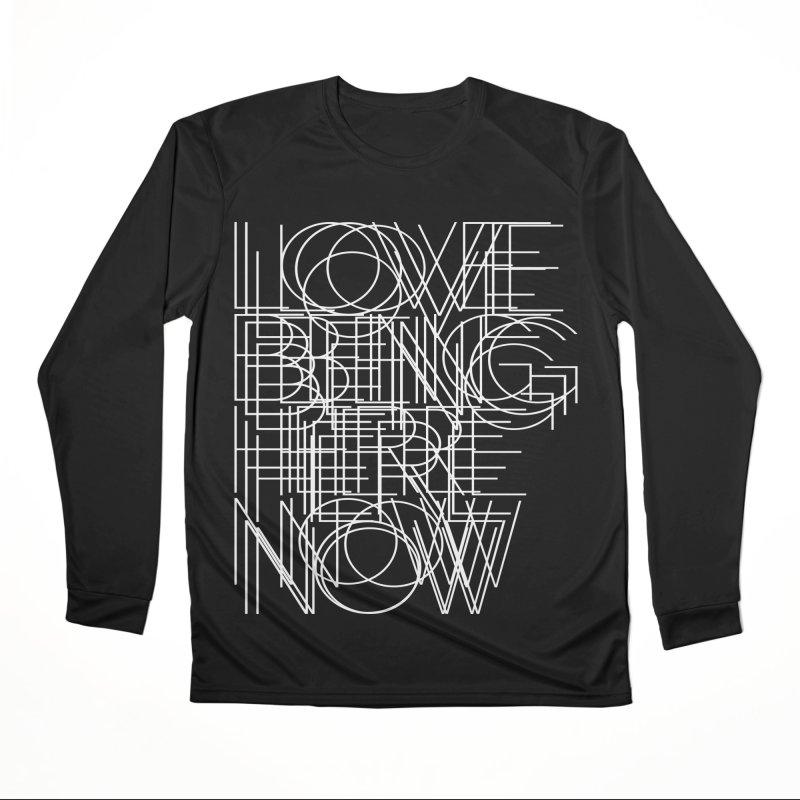 Four Simple Words Women's Performance Unisex Longsleeve T-Shirt by bulo