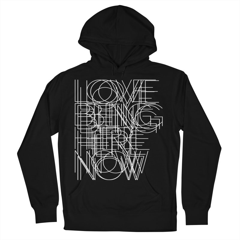Four Simple Words Women's French Terry Pullover Hoody by bulo