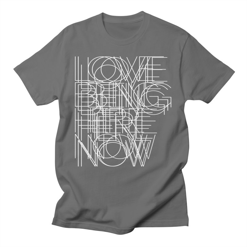 Four Simple Words Men's T-Shirt by bulo