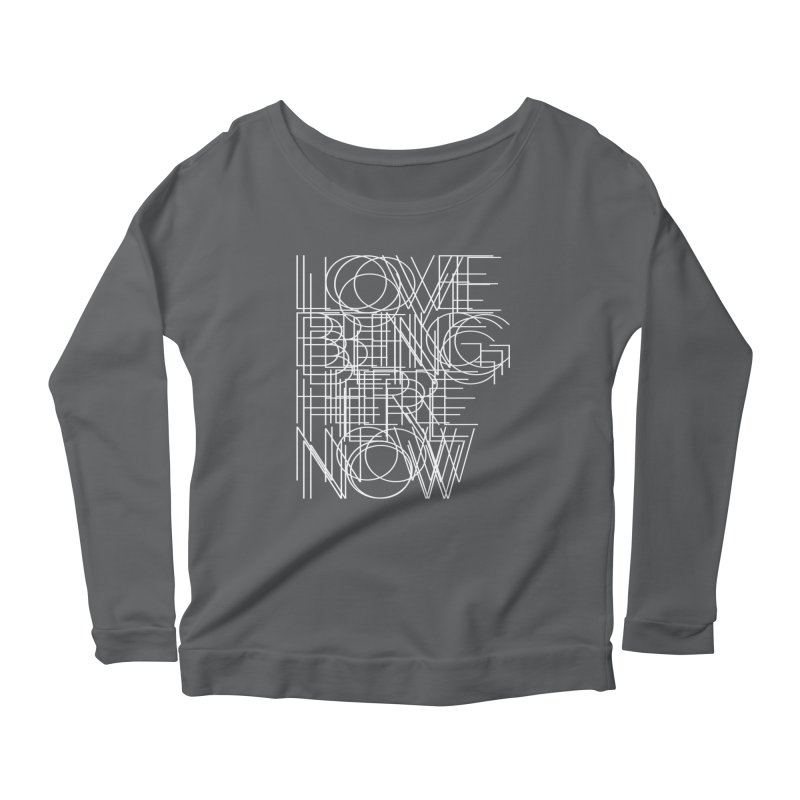 Four Simple Words Women's Scoop Neck Longsleeve T-Shirt by bulo