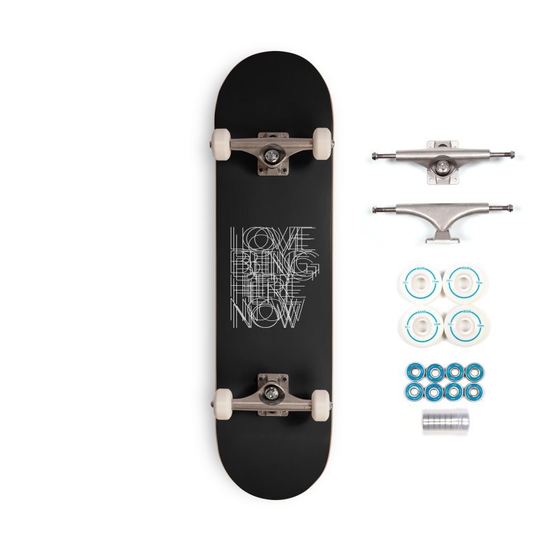 Four Simple Words Accessories Complete - Basic Skateboard by bulo