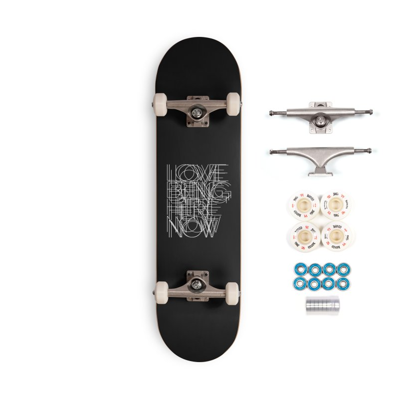 Four Simple Words Accessories Complete - Premium Skateboard by bulo