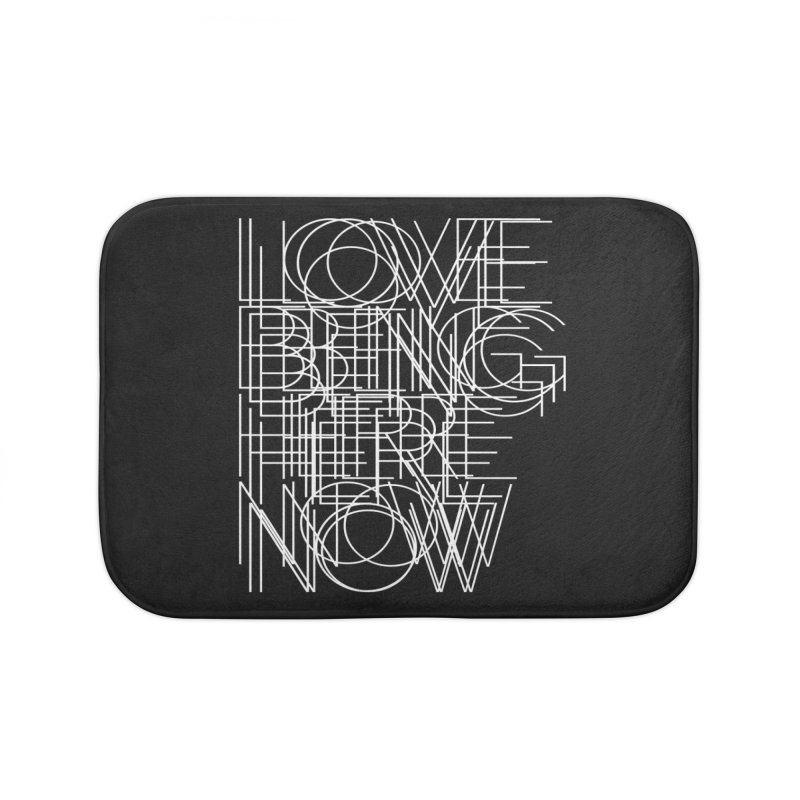 Four Simple Words Home Bath Mat by bulo