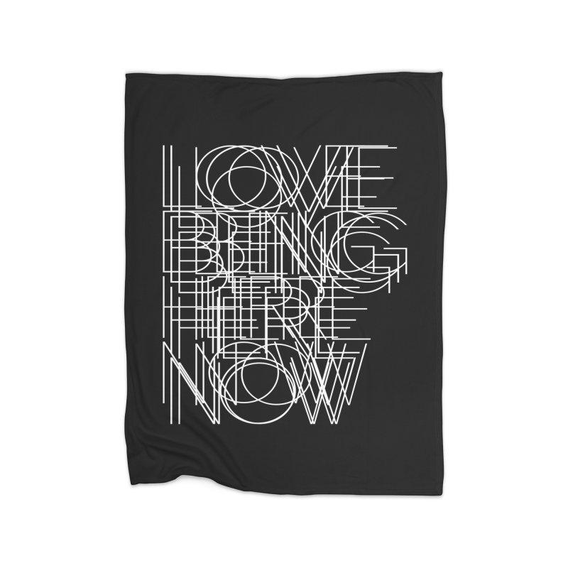 Four Simple Words Home Fleece Blanket Blanket by bulo
