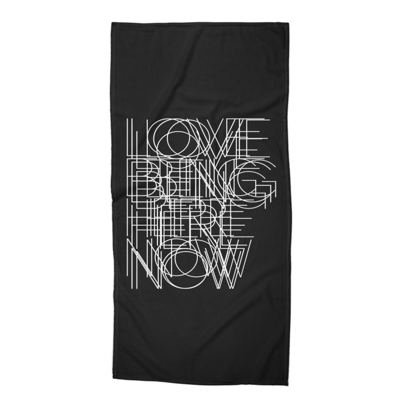 Four Simple Words Accessories Beach Towel by bulo