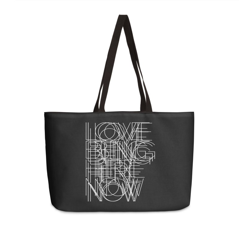 Four Simple Words Accessories Bag by bulo