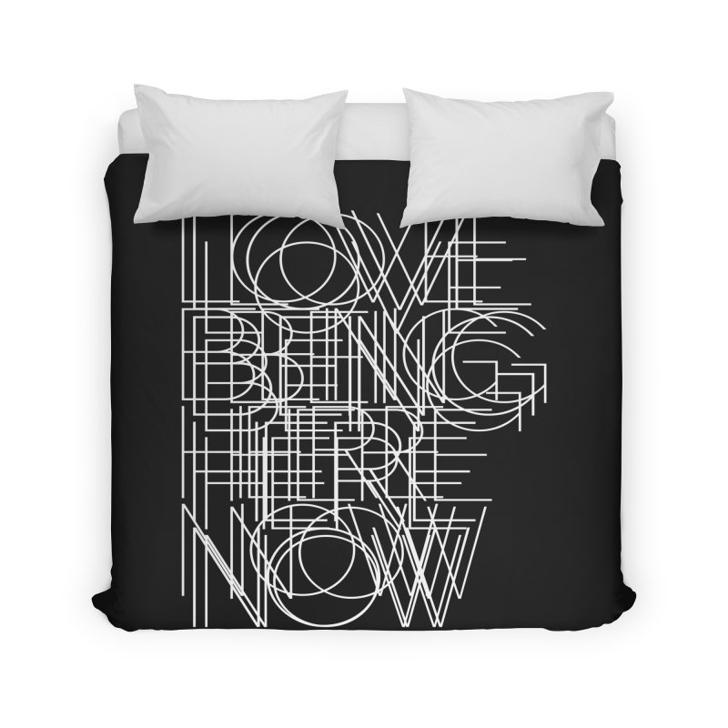 Four Simple Words Home Duvet by bulo