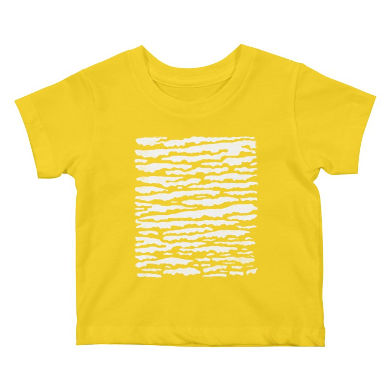 Nebulous Camouflage Kids Baby T-Shirt by bulo