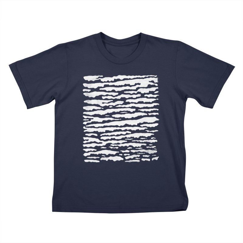 Nebulous Camouflage Kids T-Shirt by bulo