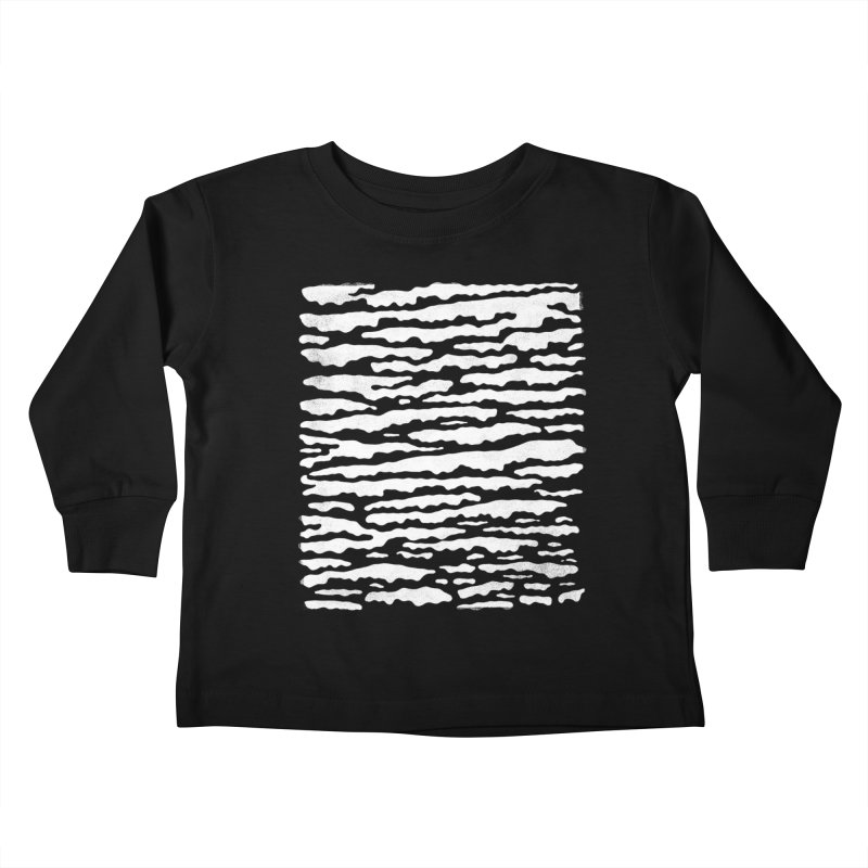 Nebulous Camouflage Kids Toddler Longsleeve T-Shirt by bulo