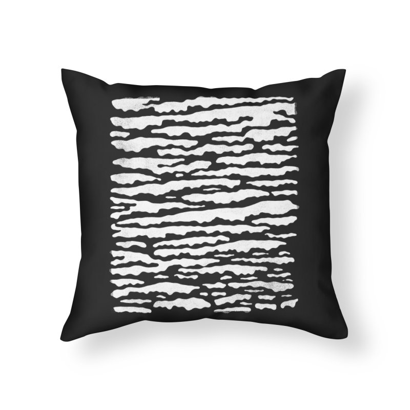 Nebulous Camouflage Home Throw Pillow by bulo