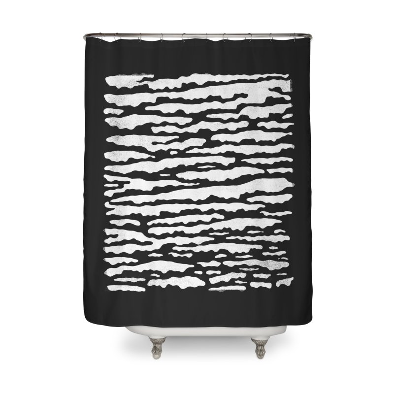 Nebulous Camouflage Home Shower Curtain by bulo
