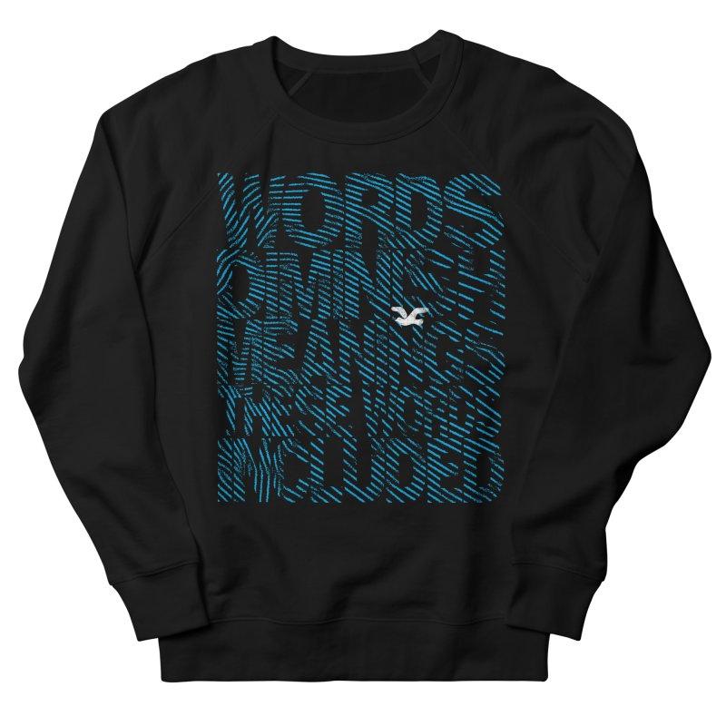 Words (Flying Bird Version) Women's French Terry Sweatshirt by bulo