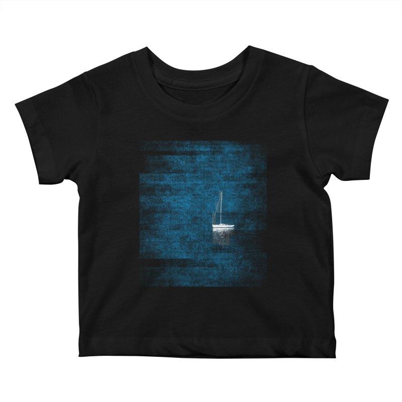 Dream Blue (Zen Version) Kids Baby T-Shirt by bulo
