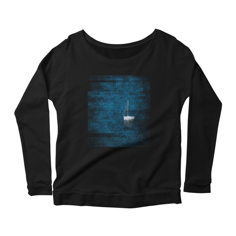 Dream Blue (Zen Version) Women's Scoop Neck Longsleeve T-Shirt by bulo