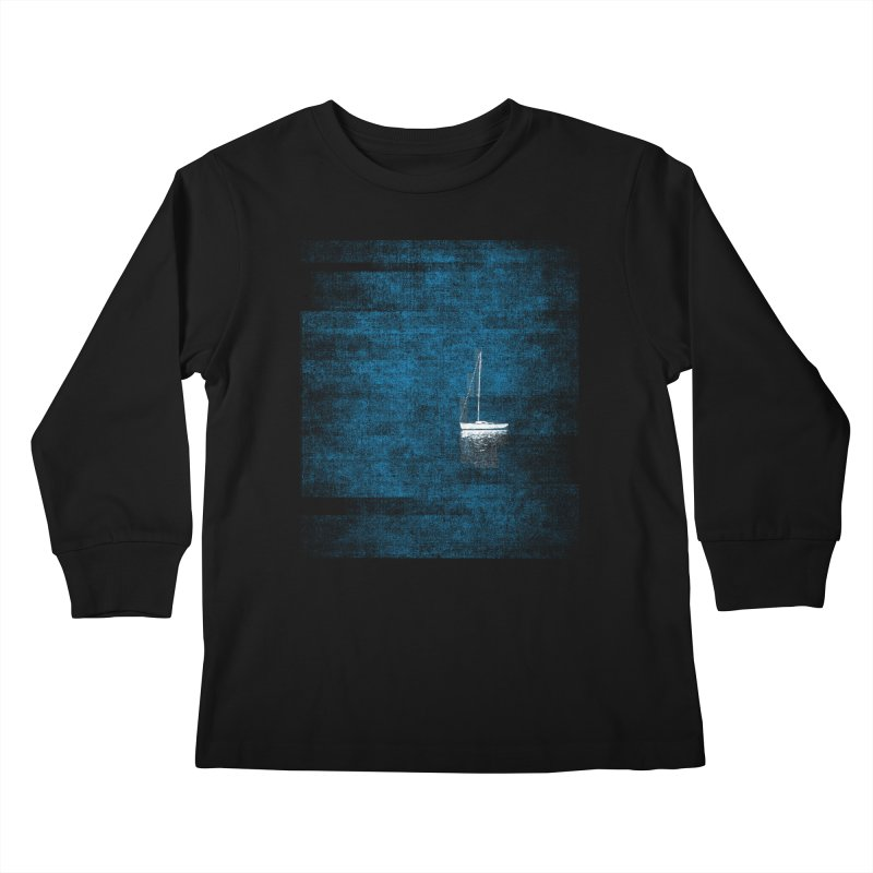 Dream Blue (Zen Version) Kids Longsleeve T-Shirt by bulo