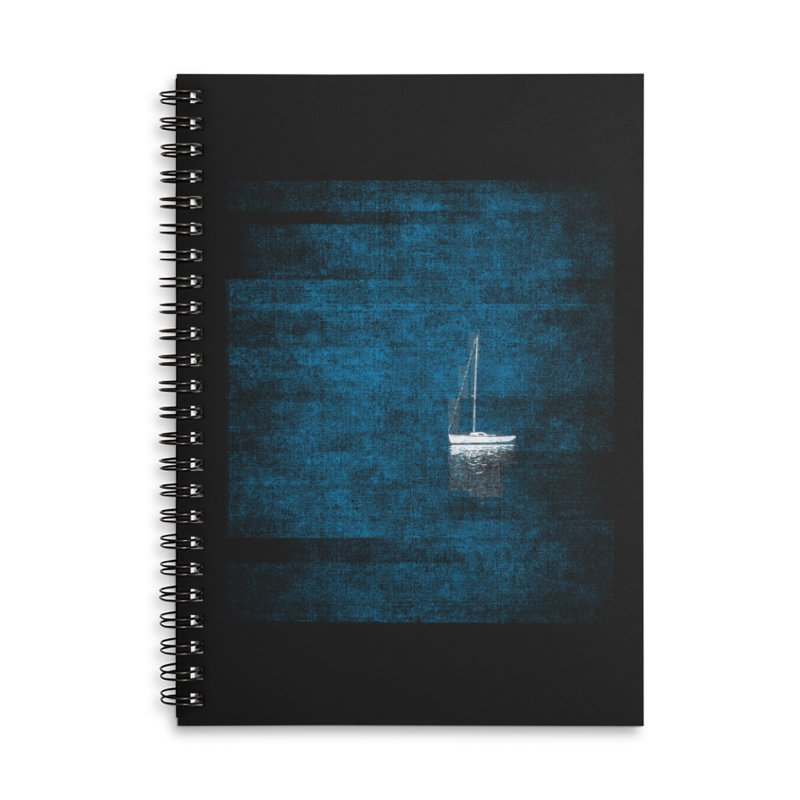 Dream Blue (Zen Version) Accessories Lined Spiral Notebook by bulo
