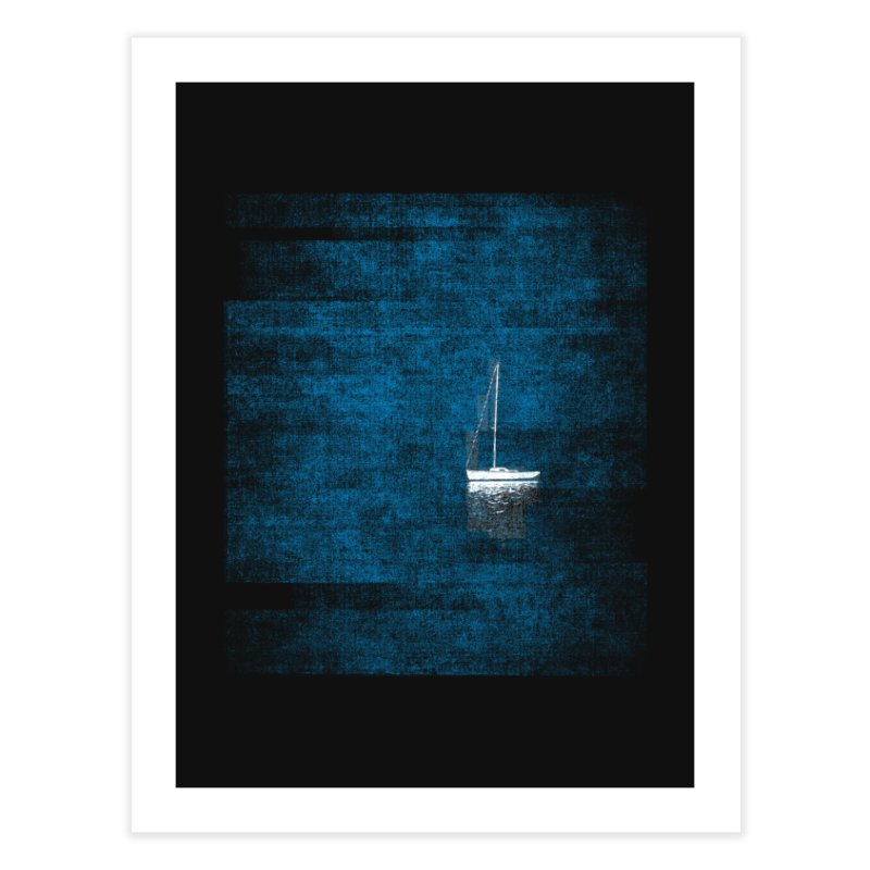 Dream Blue (Zen Version) Home Fine Art Print by bulo