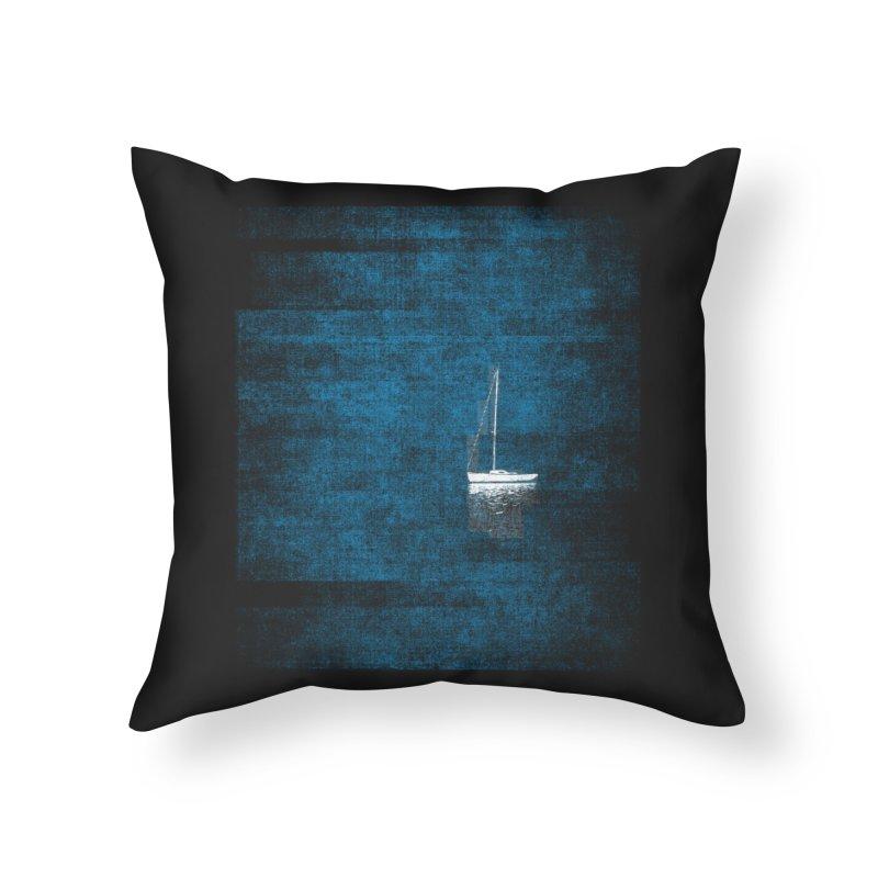 Dream Blue (Zen Version) Home Throw Pillow by bulo