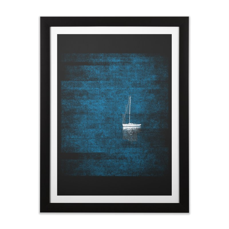 Dream Blue (Zen Version) Home Framed Fine Art Print by bulo