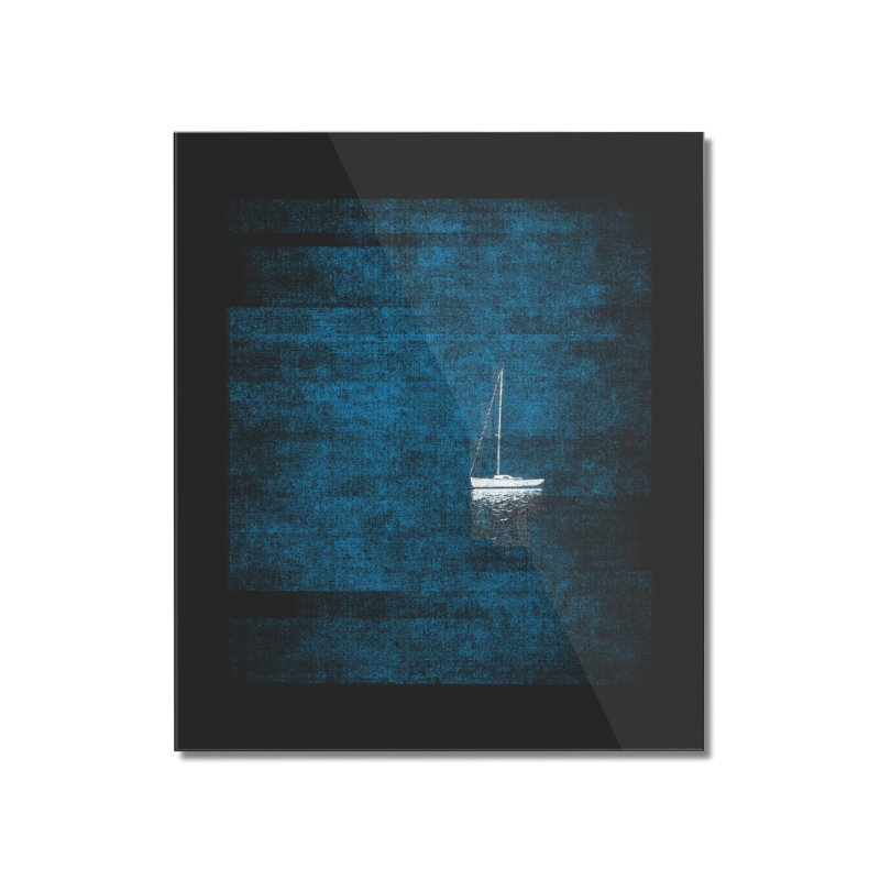 Dream Blue (Zen Version) Home Mounted Acrylic Print by bulo