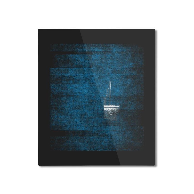 Dream Blue (Zen Version) Home Mounted Aluminum Print by bulo