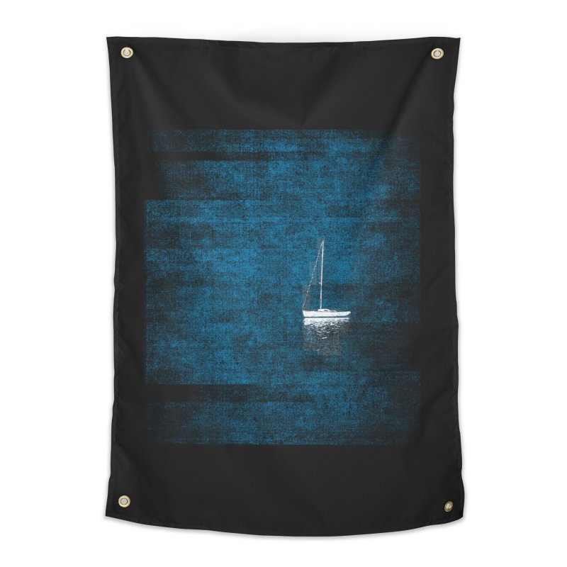 Dream Blue (Zen Version) Home Tapestry by bulo