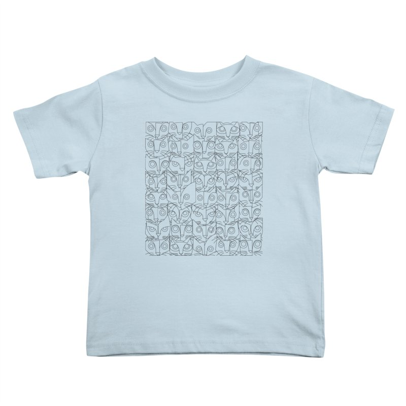 The Forty Killers Kids Toddler T-Shirt by bulo