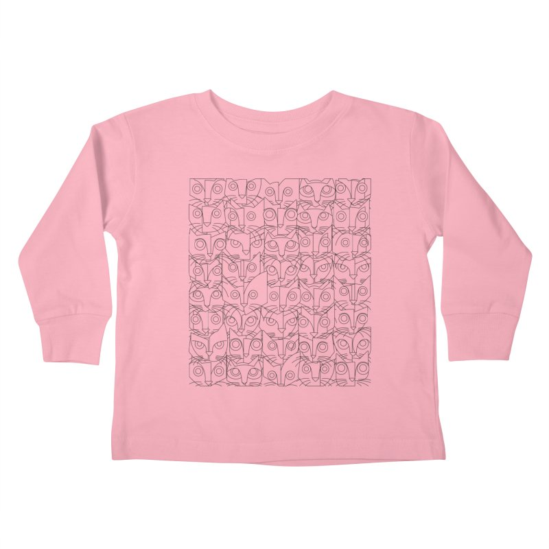 The Forty Killers Kids Toddler Longsleeve T-Shirt by bulo