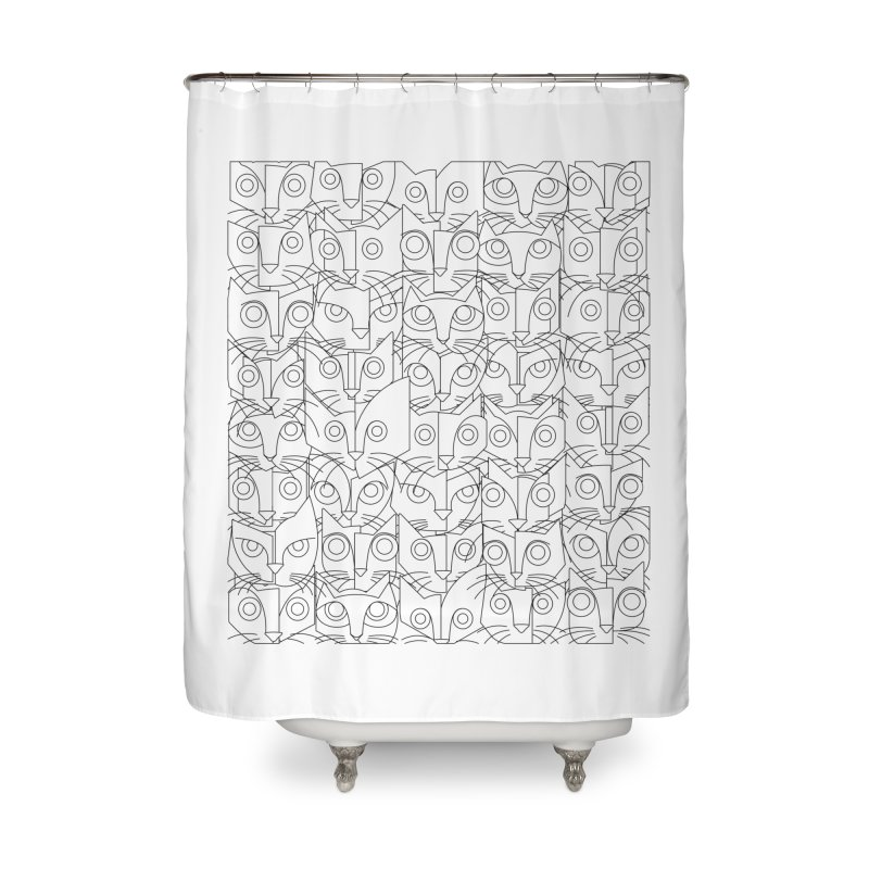 The Forty Killers Home Shower Curtain by bulo
