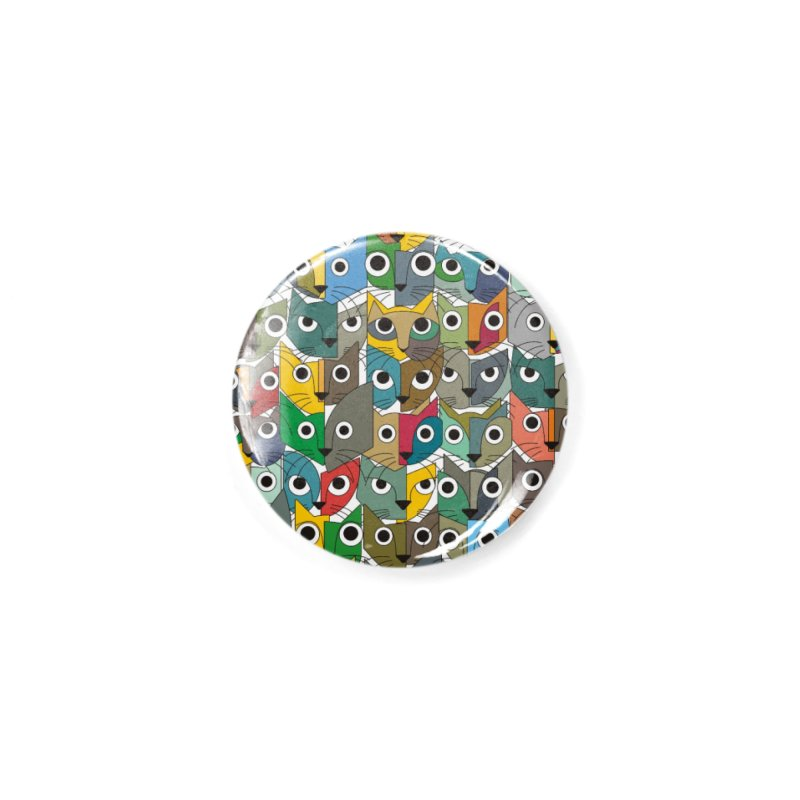 Cats (Forty Pack Version) Accessories Button by bulo