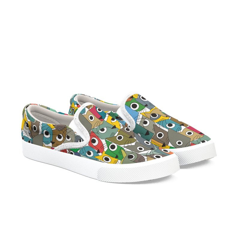 Cats (Forty Pack Version) Women's Slip-On Shoes by bulo