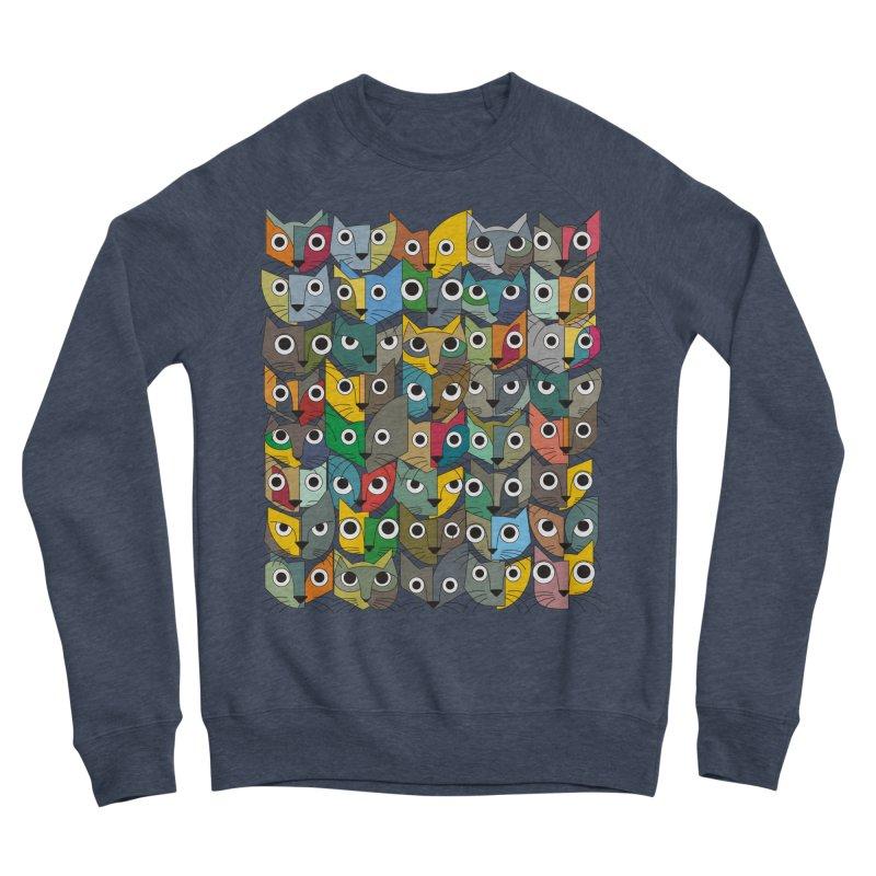 Cats (Forty Pack Version) Women's Sponge Fleece Sweatshirt by bulo